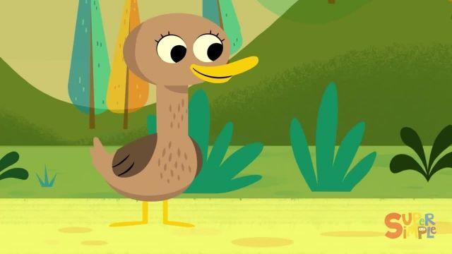 شعر های کودکانه - انگلیسی پنج اردک کوچک