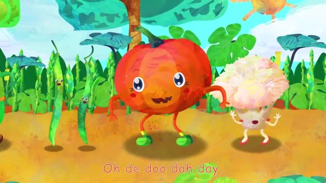 ترانه های کودکانه انگلیسی - سبزیجات