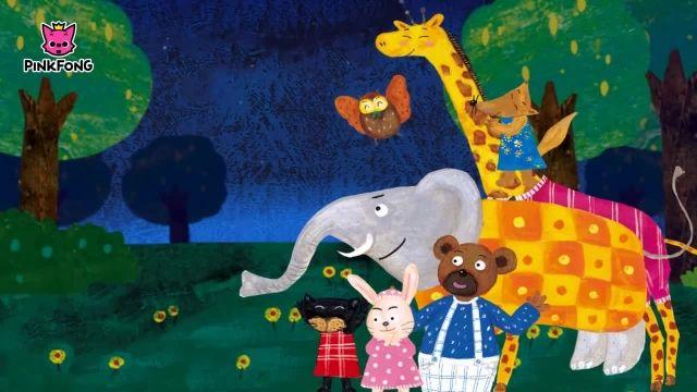 شعرو ترانه های کودکانه انگلیسی - خانه میمون در آتش