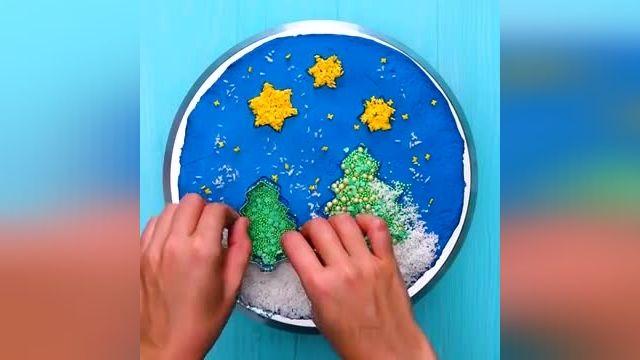 نحوه درست کردن تزیین کیک دخترانه در چند دقیقه