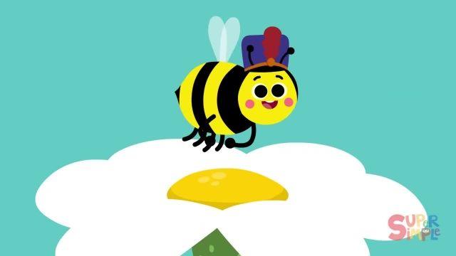 شعر های کودکانه - انگلیسی زنبورها