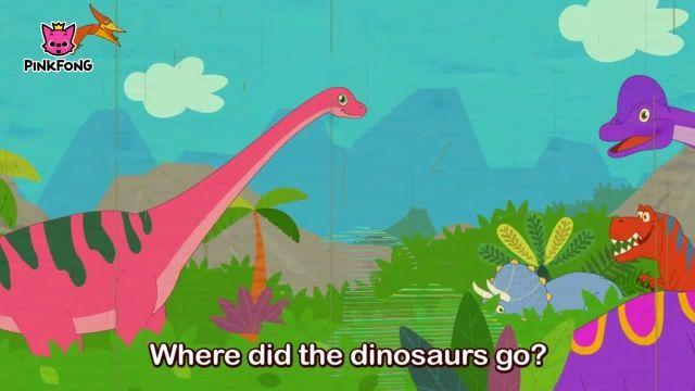 شعرو ترانه های کودکانه انگلیسی - دایناسورها کجا رفتند؟