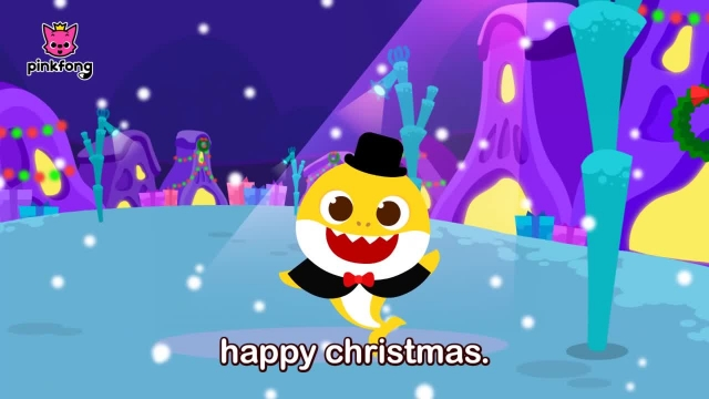 شعر های کودکانه - انگلیسی کریسمس مبارک کوسه
