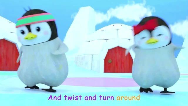 ترانه های کودکانه انگلیسی - رقص پنگوئن