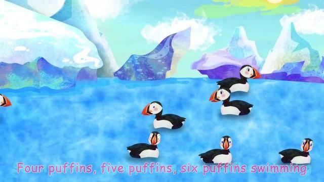 ترانه های کودکانه انگلیسی - پنج پرنده کوچک