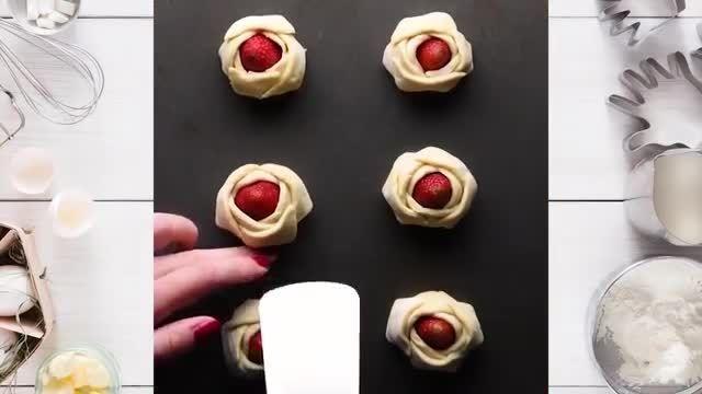 ترفندهای کاربردی آشپزی - 15 دستورالعمل و طرز تهیه خیمر شیرینی خوشمزه