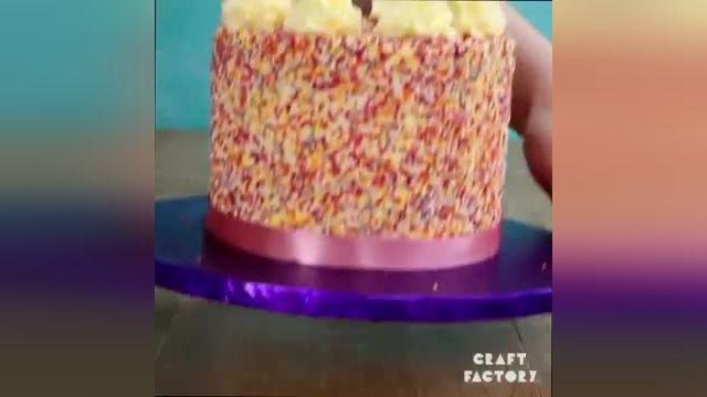 ترفندهای کاربردی آشپزی - 24 ایده خلاقانه برای تزیین کیک های خانگی در چند دقیقه