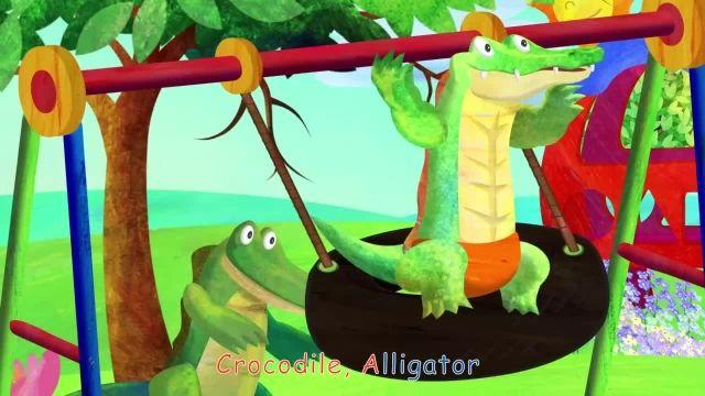 ترانه های کودکانه انگلیسی - آواز تمساح کروکودیل