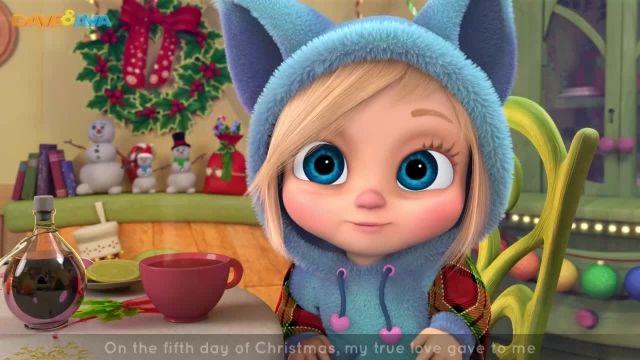 شعرو ترانه های کودکانه انگلیسی - دوازده روز کریسمس