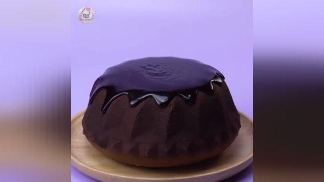 فیلم آموزشی ایده های شگفت انگیز کیک شکلاتی در چند دقیقه