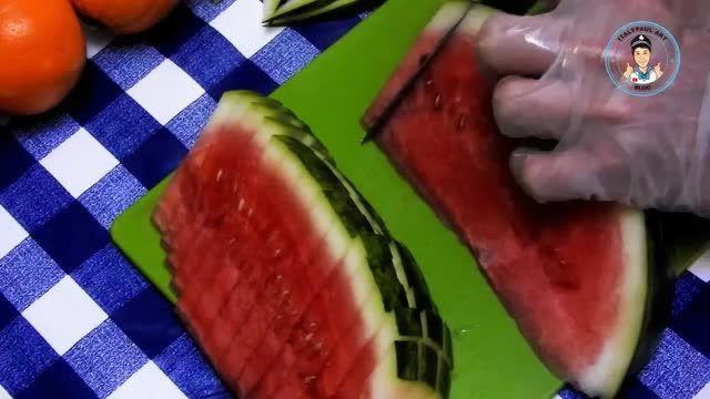 نکات کاربردی آشپزی - 15 ایده های میوه آرایی و تزیین میوه در چند دقیقه