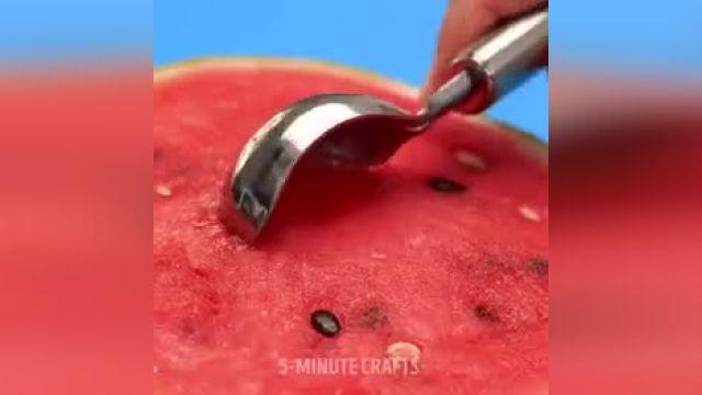 33 روش جادویی برای برش دادن میوه ها