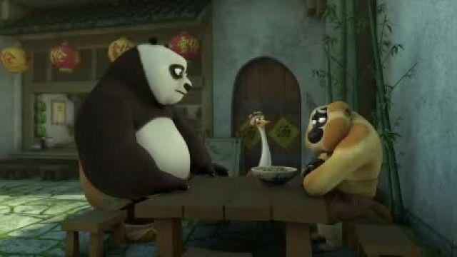 دانلود انیمیشن سریالی پاندای کونگ فو کار قسمت 13