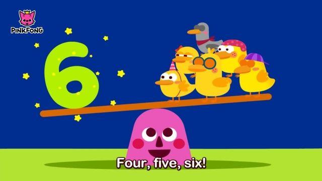 شعرو ترانه های کودکانه انگلیسی - شش اردک کوچک