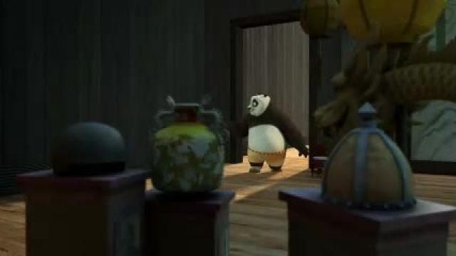 دانلود انیمیشن سریالی پاندای کونگ فو کار قسمت 10