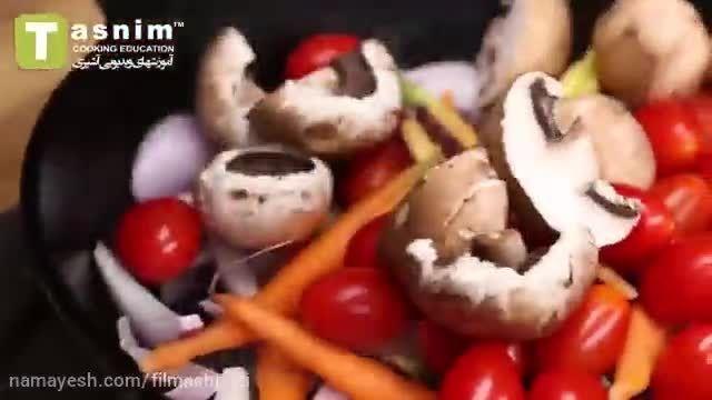 نحوه درست کردن استفاده از ظروف مناسب در پخت