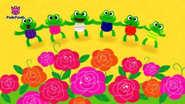 شعرو ترانه های کودکانه انگلیسی - حلقه در اطراف گل سرخ
