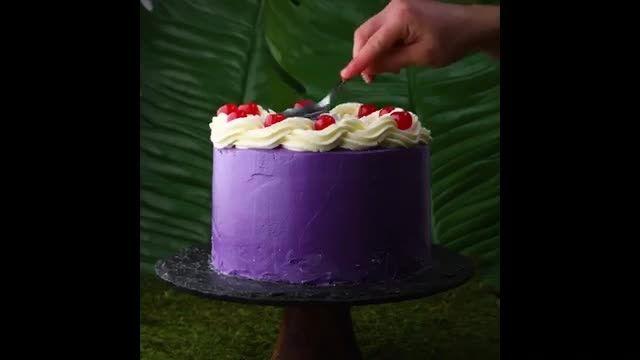 دستورالعمل درست کردن تزیین کیک تولد در خانه به صورت مرحله ای
