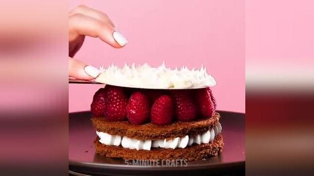 آموزش طرز تزیین دسر و شیرینی در چند دقیقه