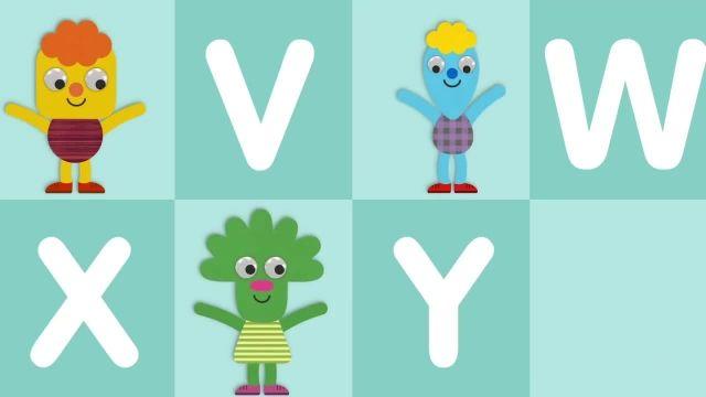 شعر های کودکانه - انگلیسی حروف الفبا