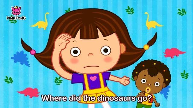 شعرو ترانه های کودکانه انگلیسی - دایناسور و بازی