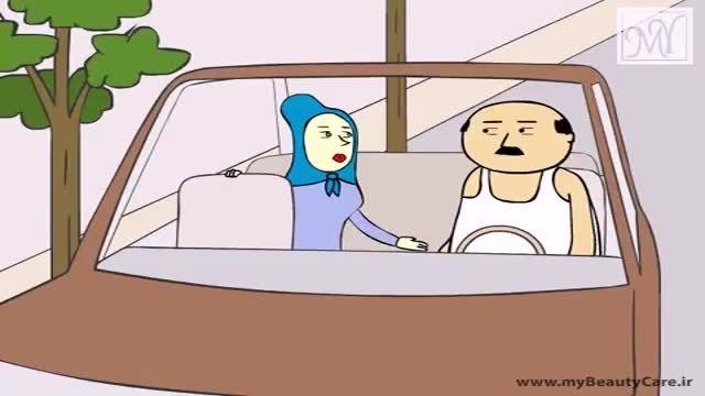 ساسی با همسرش .... از خنده منفجر نشین فقط