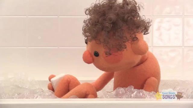 شعر های کودکانه - انگلیسی حمام