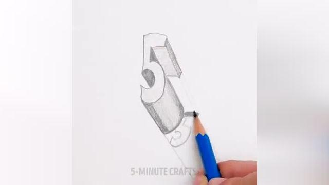 فیلم آموزش نقاشی سه بعدی با مداد - 33 ترفند کاربردی برای نقاشی های سه بعدی