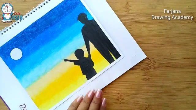 اموزش درست کردن کارت پستال برای روز پدر