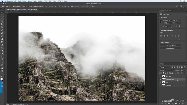 آموزش فتوشاپ برای عکاسان - ساخت افکت عکس دارای دو نور دهی