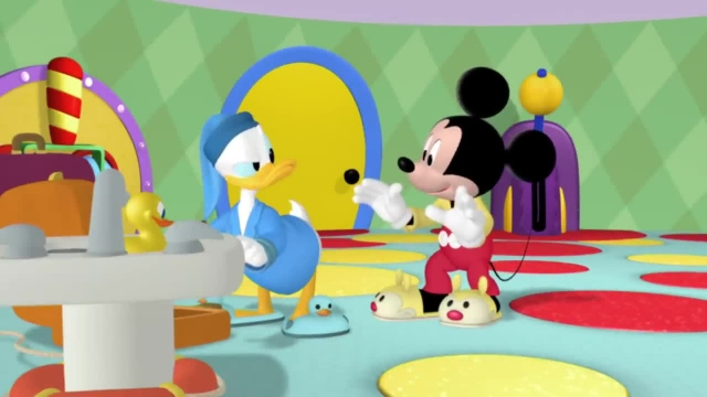 دانلود انیمیشن زیبای میکی موس (Mickey Mouse) این قسمت: مهمانی پیژامه