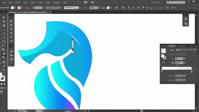 طراحی لوگو حرفه ای (اسب آبی) در چند دقیقه به همراه نکات