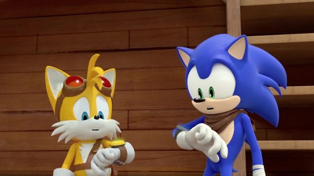 دانلود انیمیشن سریالی سونیک بوم (sonic boom) فصل 2 قسمت 27