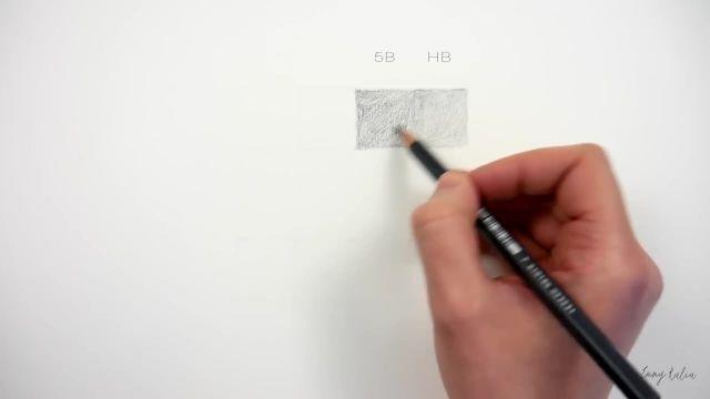 آشنایی با مدادهای طراحی و نحوه سایه زدن برای مبتدیان