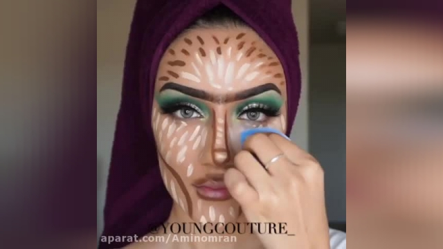 آموزش آرایش صورت با زیباترین و جذاب ترین مدل های 2020