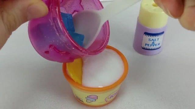کارتون عروسک بازی دختر کوچولو - آشپزی نی نی کوچولوها + کیک تولد