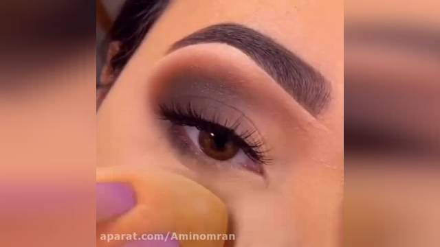 آموزش کشیدن خط چشم و سایه چشم