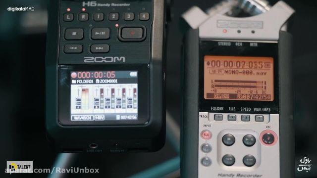 جعبه گشایی و آنباکسینگ ریکوردر ZOOM H6