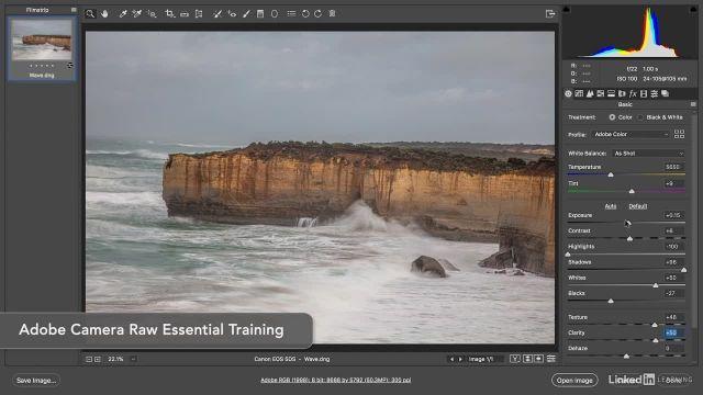 آموزش فتوشاپ : شروع کردن کار در adobe camera raw