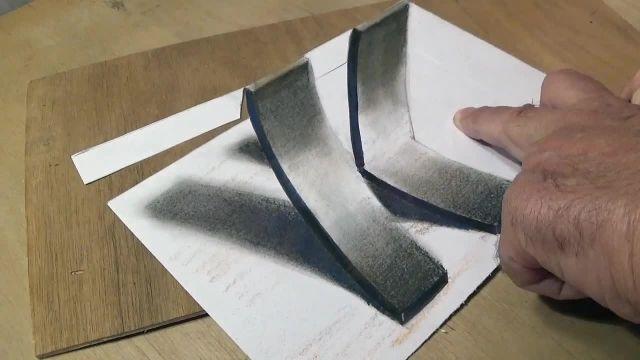 اموزش گام به گام طراحی سه بعدی (حرف k)