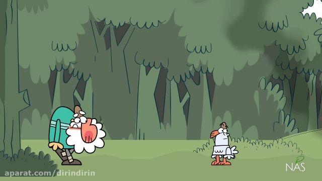 دانلود انیمیشن دیرین دیرین (drindrin) -آتش سوزی