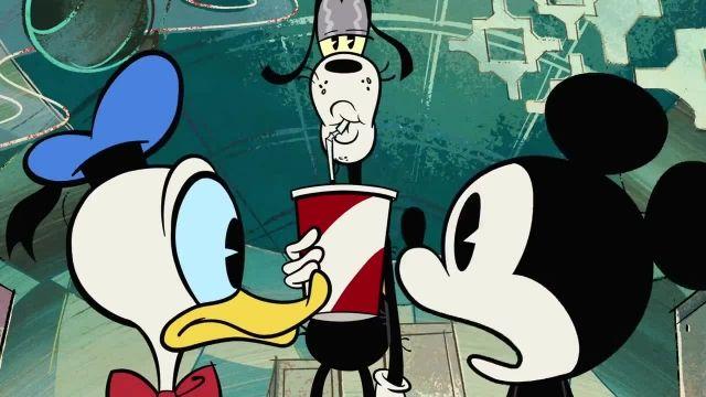 دانلود انیمیشن زیبای میکی موس (Mickey Mouse Cartoon) این قسمت: خارج از زمان