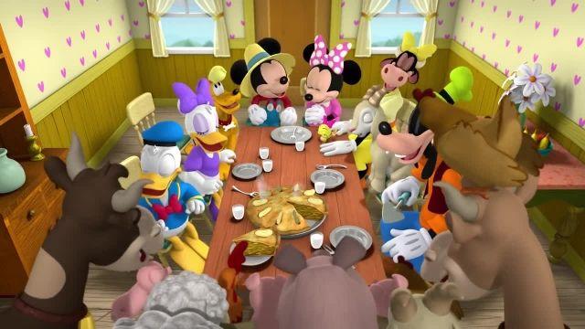 دانلود انیمیشن زیبای میکی موس (Mickey Mouse Cartoon) این قسمت: تراکتور میکی !