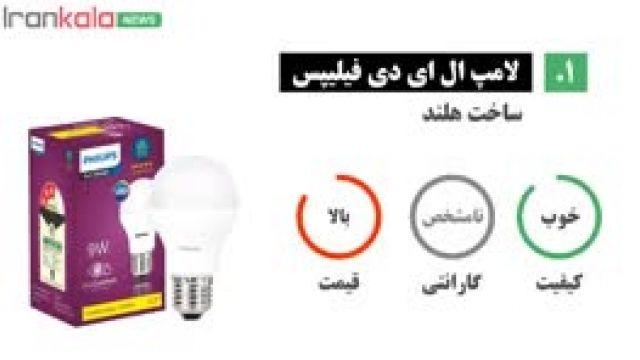 بهترین مارک لامپ ال ای دی - راهنمای خرید