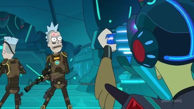 دانلود انیمیشن سریالی ریک اند مورتی (Rick and Morty) فصل 3 قسمت 1