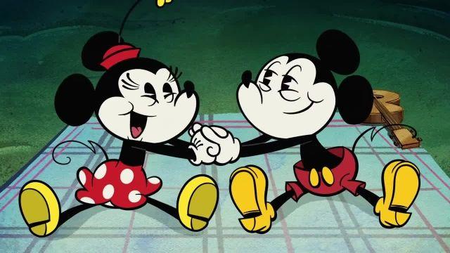 دانلود انیمیشن زیبای میکی موس (Mickey Mouse Cartoon) این قسمت: over the moon