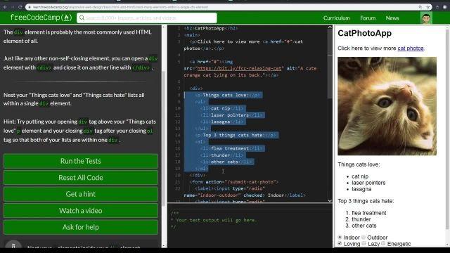 آموزش کامل مبانی NEST - html5 کردن چندین عنصر با یک عنصر تک دایو