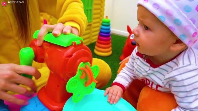 شعر کودکانه مایا و مری - این قسمت : نوزاد و اسباب بازی