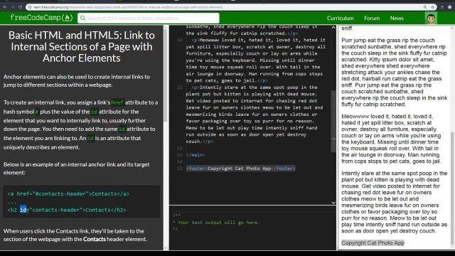 آموزش کامل مبانی html5 -لینک کردن به صفحات اکسترنال با عناصر ANCHOR