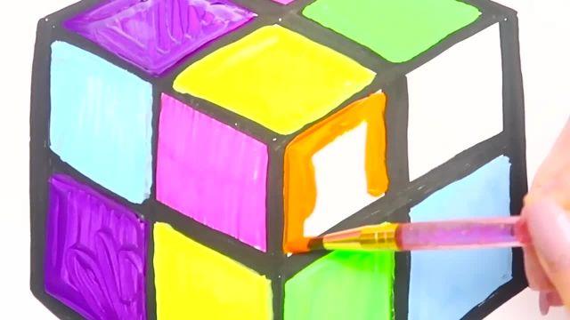 اموزش نقاشی و نحوه کشیدن لاک پشت و رنگ امیزی ان برای کودکان